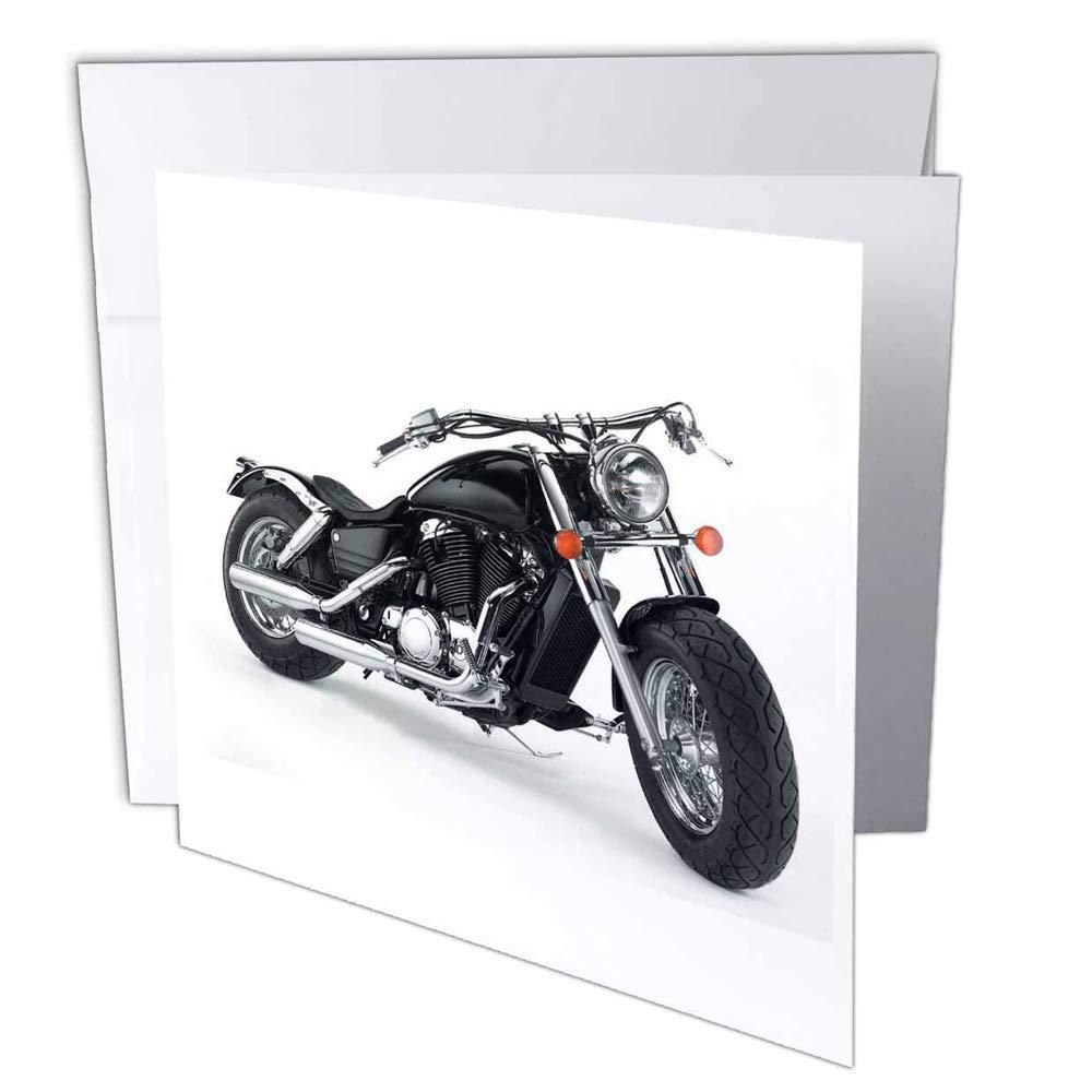 3dRosa gc_4488_1 Grußkarte Picturing Picturing Picturing Harley-Davidson Motorcycle , 6 Stück B07BSM1NTZ | Neue Sorten werden eingeführt  dde043