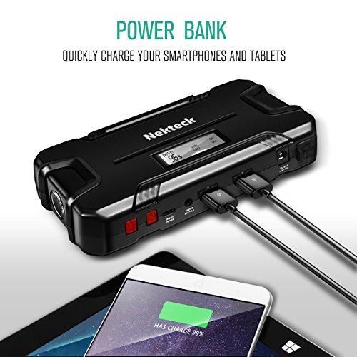 External Battery Starts Car