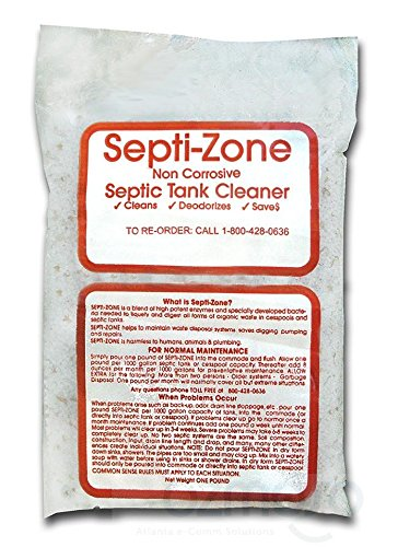 The Original SEPTI-ZONE Septic Tank/System Cleaner Clean ...
