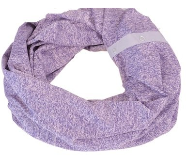 Nuroo Nursing Scarf. Turn a stylish scarf into a nursing cover anytime anywhere (Puprle Heather) by NuRoo (Image #1)