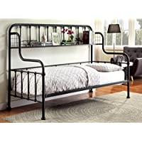 HOMES: Inside + Out IDF-1611 Angeline Industrial Daybed Day Beds, Twin