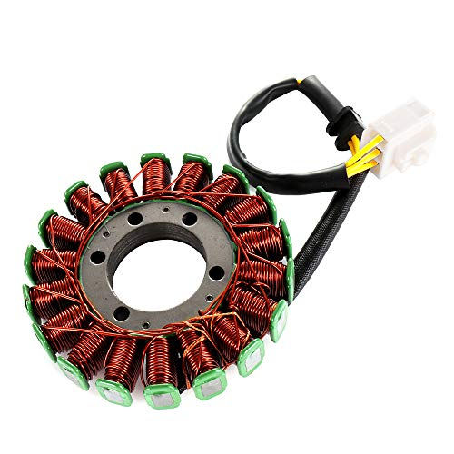 ECCPP Generator Stator Magneto Fit for 2004-2007 Honda CBR1000RR 2005 2007 Honda CBR1000RR Repsol Compatible with 31100-MEL-305 31120-MEL-D21 Stator ()