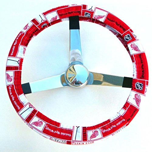 Mana Trading Handmade Steering Wheel Cover Detroit Red Wings (Red Wings Wheel Cover compare prices)