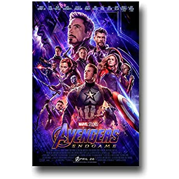 Amazon Com Avengers Endgame Movie Poster 2 Sided Original Intl