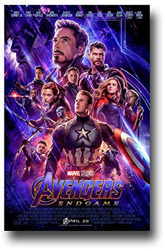 - Avengers Endgame Poster Movie Promo 11 x 17 inches Flyer Size End Game 2019 X