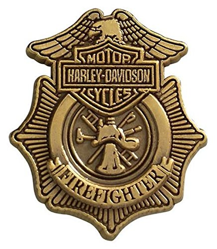 Harley-Davidson Firefighter Pin Badge