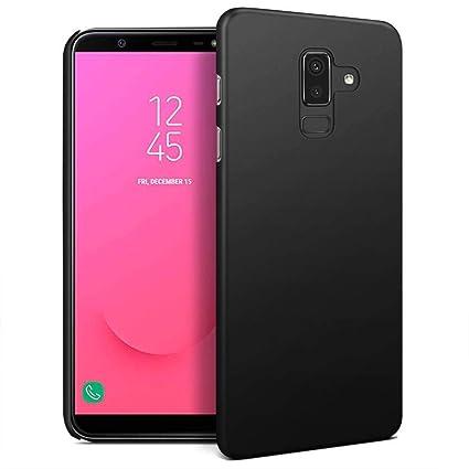 competitive price ba3c4 cb733 ELV Sam-J8-PC-BLK Hard Back Case Cover for Samsung J8 2018 (Black)
