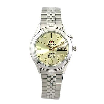aefcc6e3dc オリエント ORIENT 腕時計 レディース SEM0301UC8-B クォーツ ゴールド シルバー[逆輸入品] [