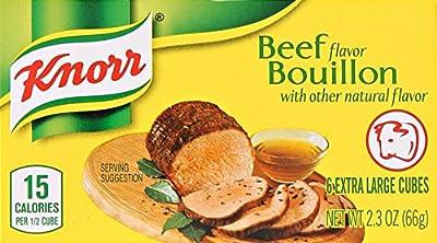 Knorr Bouillon Bouillon Cubes, Beef 2.5 oz, 6 Cubes