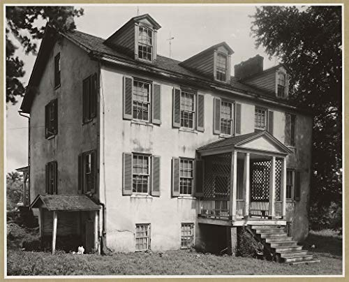 Vintography 8 x 10 Reprinted Photo of Southern Architectural Medical Hall, Churchville vic, Harford County, Maryland 1939 Johnston Frances Benjamin 64a by Vintography