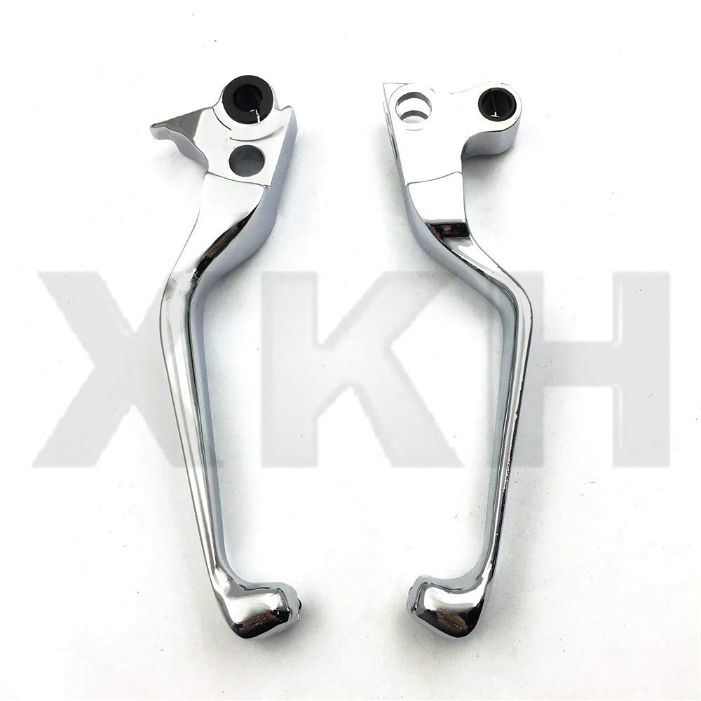 Replacement of Motorcycle Chrome Brake Clutch Lever Fit For Harley Davidson Xl Sportster 883 1200 Softail new XKH