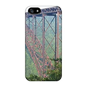 Defender Case With Nice Appearance (new River Gorge Bridge) For Iphone 5/5s by supermalls