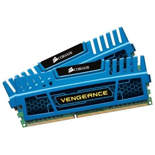 chollos oferta descuentos barato Corsair Vengeance Módulo de Memoria XMP de Alto Rendimiento 16 GB 2 x 8 GB DDR3 1600 MHz CL10 Azul CMZ16GX3M2A1600C10B
