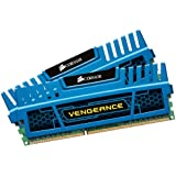 Corsair Vengeance Blue 16GB (2x8 GB) DDR3 1600MHz (PC3 12800) Desktop Memory 1.5V