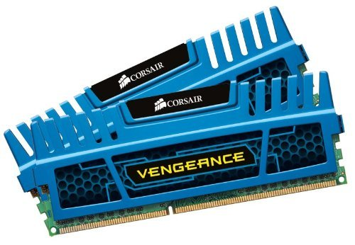 Corsair Vengeance Blue 16 GB (2x8 GB) DDR3 1600MHz (PC3 12800) Desktop Memory 1.5V