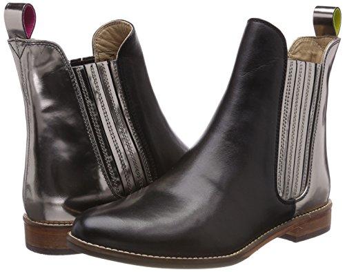 Westbourne Tom Joule Chelsea Y Schwarz Boots pewter Femme 8qEqznrwA