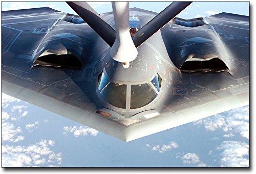 - B-2 Stealth Bomber Refueling 8x12 Silver Halide Photo Print