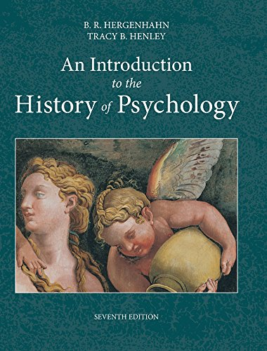 An Introduction to the History of Psychology by Wadsworth Publishing
