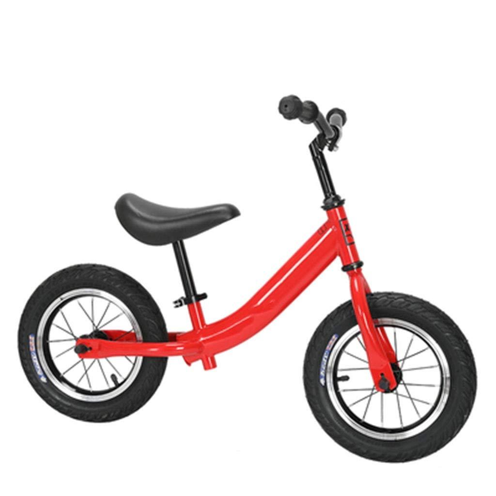 entrega rápida Niños de los niños Equilibrio Bicicleta Bicicleta Bicicleta de aleación de Aluminio Niños Niñas Corriendo Caminando Bicicleta de Entrenamiento 12 Pulgadas for 2-6 años de Edad ( Color   rojo )  la mejor oferta de tienda online