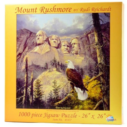 Mt. Rushmore Jigsaw Puzzle 1000pc by SunsOut SunsOut by 5e45e7