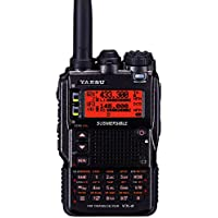 Yaesu Original VX-8DR 50/144/430 with MARS/CAP Modification Transmit to 140-174 MHz, 420-470 MHz Triple-Band Plus 220 MHz Transmit at 0.5 Watt; Amateur Handheld Transceiver