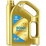 龙蟠 SONIC9000 SN 5W-20 全合成汽车机油汽油润滑油 适用日韩系车4L