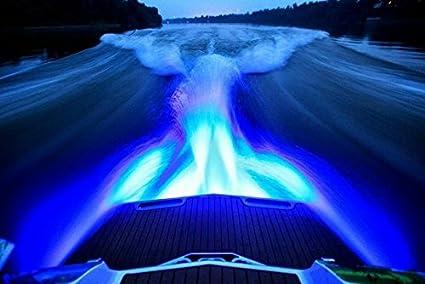 Luce A Led Per Barca.Luce A Led Subacquea Per Barca Colore Blu