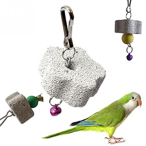 Parakeet Products Birds Toys Parrot Mouth Grinding Blah S...