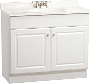 Rsi Home Products C14136a Richmond Bathroom Vanity Cabinet With Top