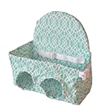 Sunshine Leaf Baby Shopping Cart Seat Suitable for 8-48 months Toddler and Twins (Mint Green)