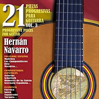 21 Piezas Progresivas para Guitarra, Vol. 3 de Hernán Navarro en ...