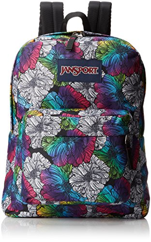 Amazon.com: JanSport Superbreak Backpack - Multi Ombre Floral ...