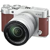 Fujifilm X-A3 Mirrorless Digital Camera with 16-50mm Len (Brown)