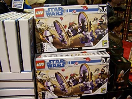 LEGO Star Wars Exclusive Limited Edition Set 2008 ComicCon Clone Wars #7670, #7654