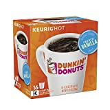 Dunkin' Donuts French Vanilla Flavored Coffee K-Cup Pods, For Keurig Brewers, 64 Count