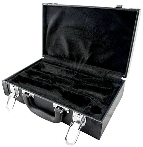 Sky SKYCLHC601 Clarinet Imitation Leather Case, Black Color, Bb by Sky