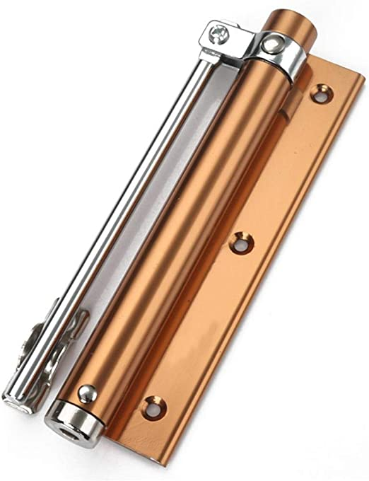 les h/ôtels ferme-porte en acier inoxydable pour la maison ferme-porte /à ressort r/églable section de fermeture /à 180 /° ferme-porte charni/ère /à fermeture automatique les salles de bain