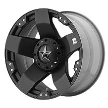 "KMC Wheels XD Series Rockstar XD775 Matte Black Wheel (20x8.5""/8x6.5"")"