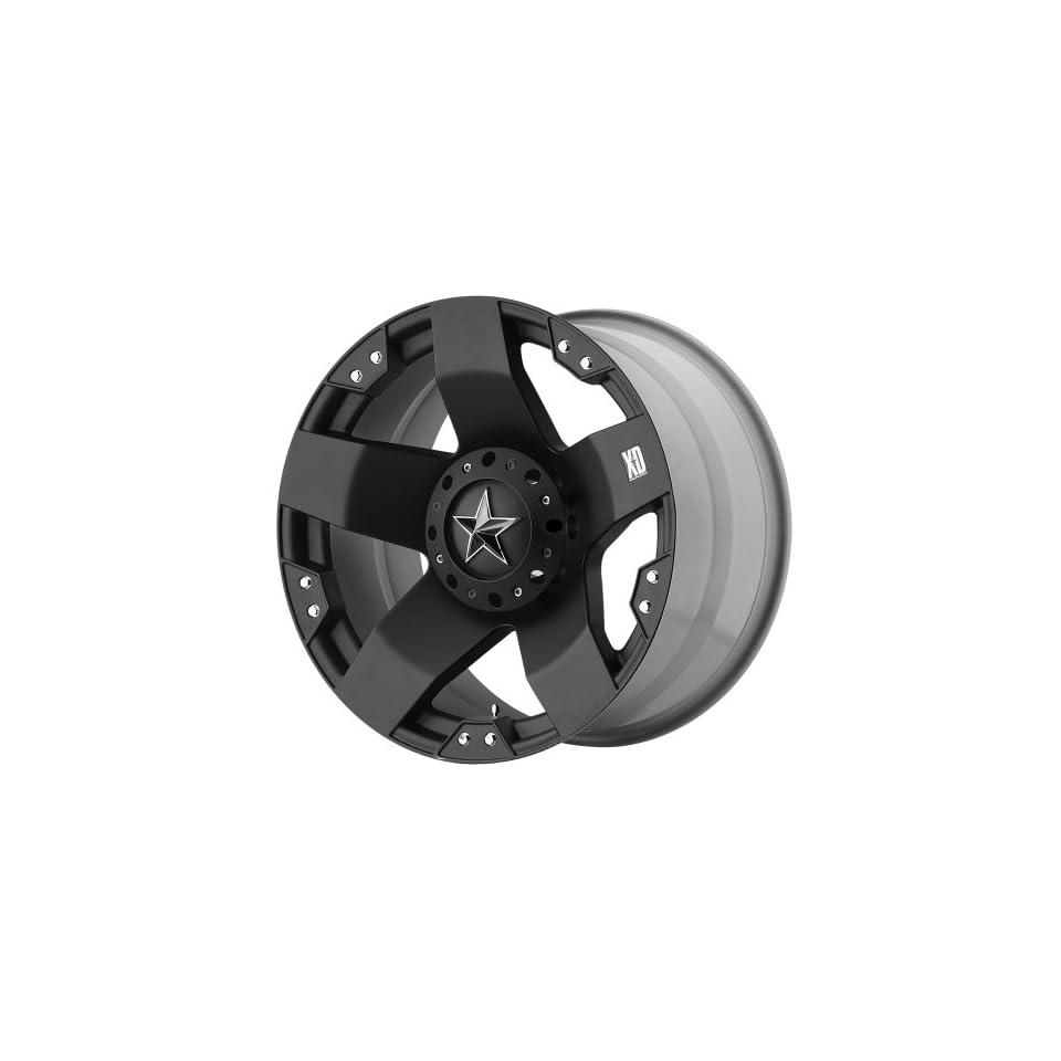 XD Series Rockstar XD775 Matte Black Wheel (20x8.5/6x135mm)