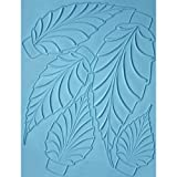 Spring Leaves Showpeel for Professional Chefs and Cake Decorators - Food Contact Safe Silicone Mold - Ideal for Casting Chocolate, Sugar, Cake Decorations, Showpieces and More - Professional Grade Mold used by Hotel and Restaurant Chefs.