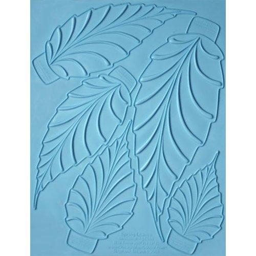 Spring Leaves Showpeel for Professional Chefs and Cake Decorators - Food Contact Safe Silicone Mold - Ideal for Casting Chocolate, Sugar, Cake Decorations, Showpieces and More - Professional Grade Mold used by Hotel and Restaurant Chefs. by Chicago School