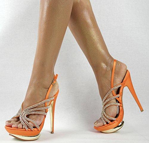 naranja Zapatillas Shayenne Zapatillas Shayenne Mujer Mujer altas altas qR14wq