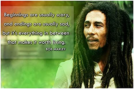 Amazoncom Bob Marley Quote Posters For Classroom Black History
