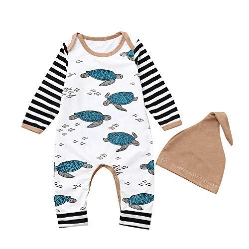 Geetobby Baby Kids Boy Girl Infant Romper Jumpsuit Bodysuit Cartoon Outfits Set ()