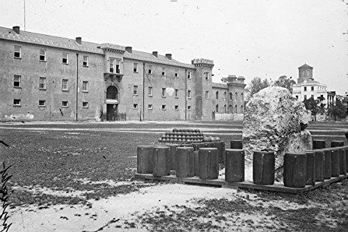 New 4x6 Civil War Photo: The Citadel in Marion Square, Charleston
