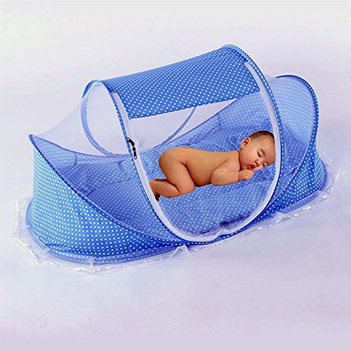 portable baby bed crib folding mosquito net infant summer hot selling yurts nets 2 colors
