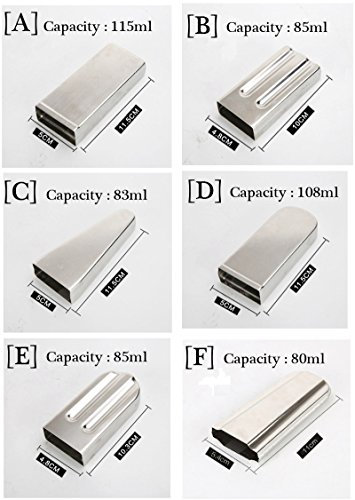 20pcs Stainless Steel Molds for Popsicles Maker Ice Lolly Ice Cream Pops Bars Stick Holder (D) by KikoPro (Image #3)