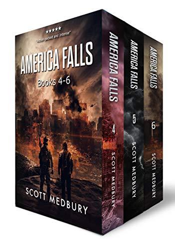 The America Falls Series: Books 4-6 (America Falls Box Set Book 2) (The End Of America Series)