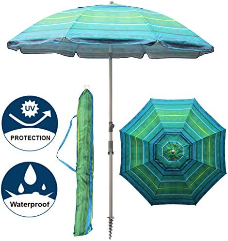Blissun Portable Umbrella Anchor Stripe product image