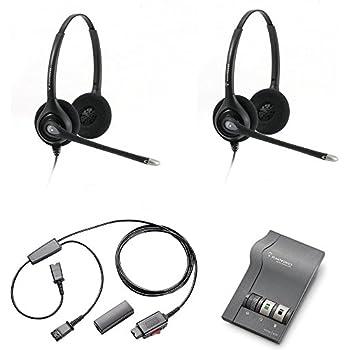 Amazon Com Plantronics Hw261n Headset Training Bundle